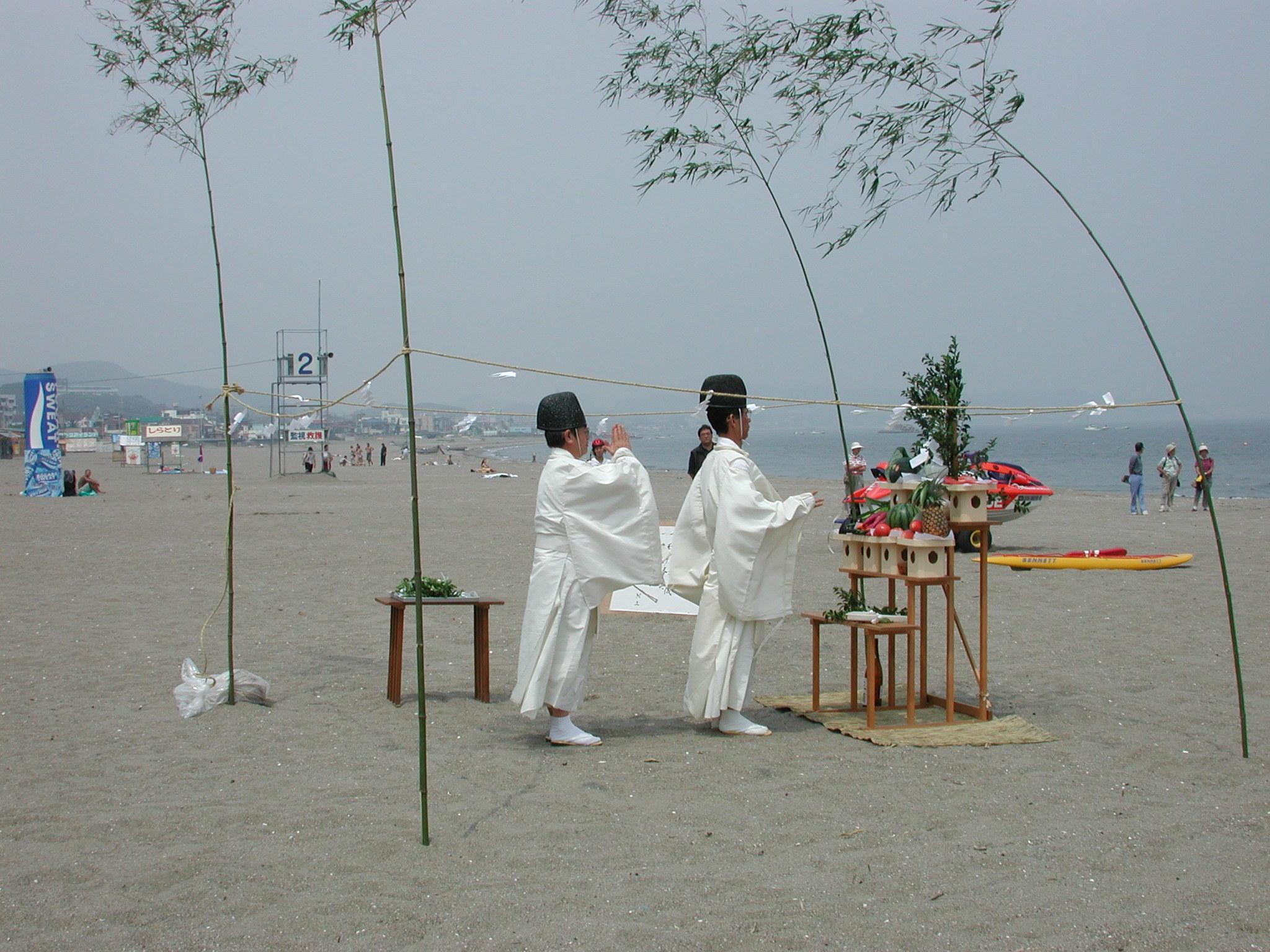三浦海岸海水浴場海開き